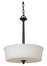 Craftmade 41743-OB - Helena 3 Light Inverted Pendant in Oiled Bronze