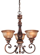 Minka-Lavery 1353-177 - 3 Light Mini Chandelier