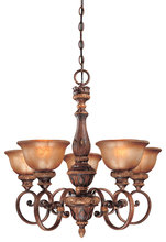 Minka-Lavery 1355-177 - 5 Light Chandelier