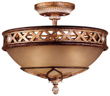Minka-Lavery 1757-206 - 3 Light Semi Flush Mount