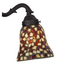 Fanimation G226 - 2 1/4 GLASS: MOSAIC, AMBER/BROWN