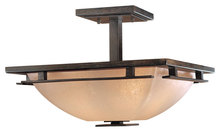 Minka-Lavery 1279-357 - 2 Light Semi Flush Mount