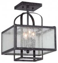 Minka-Lavery 4876-283 - 4 Light Semi Flush Mount