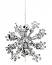 Kalco Allegri 11631-010-FR001 - Constellation 6 Light Mini Round Pendant