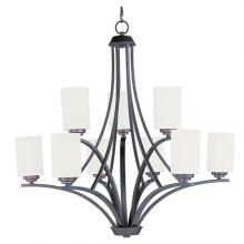 Maxim 20036SWOI - Deven-Multi-Tier Chandelier