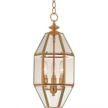 Maxim 61501CLPB - Bound Glass-Entry Foyer Pendant