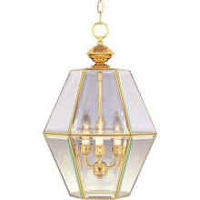 Maxim 90350CLPB - Bound Glass-Entry Foyer Pendant