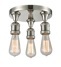 Innovations Lighting 562-3C-PN - Three Light Pan Semi-Flush