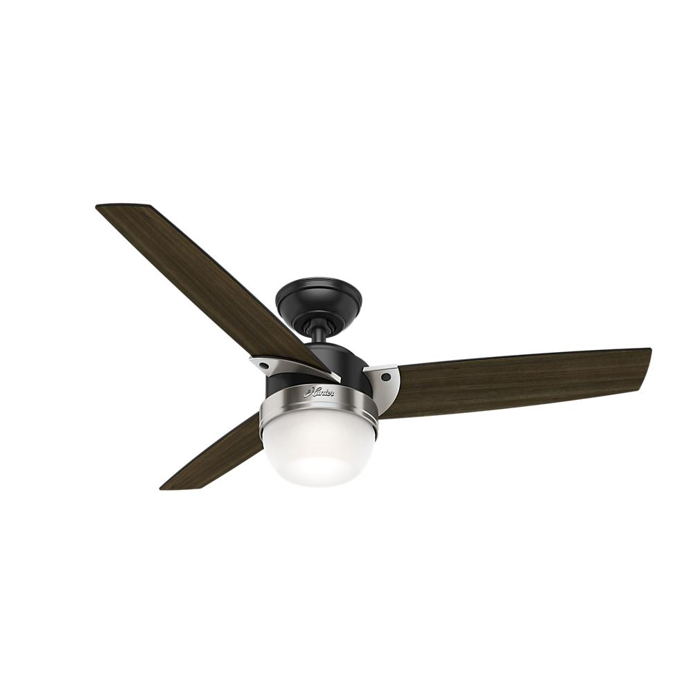 "48"" Ceiling Fan with Light with Handheld Remote"