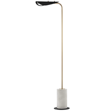 Hudson Valley HL157401-AGB/BK - 1 Light Floor Lamp