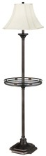 Kenroy Home 33052BBZ - Wentworth Gallery Floor Lamp