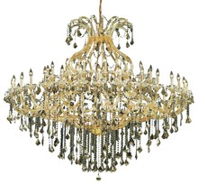 Elegant 2800G72G/SS - 2800 Maria Theresa Collection Chandelier D:72in H:60in Lt:49 Gold Finish (Swarovski� Elements Crysta