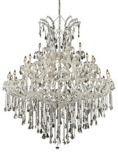 Elegant 2801G60C/SS - 2801 Maria Theresa Collection Chandelier D:60in H:72in Lt:49 Chrome Finish (Swarovski� Elements Crys