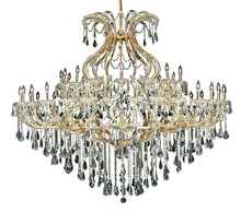 Elegant 2801G72G/SS - 2801 Maria Theresa Collection Chandelier D:72in H:60in Lt:49 Gold Finish (Swarovski� Elements Crysta