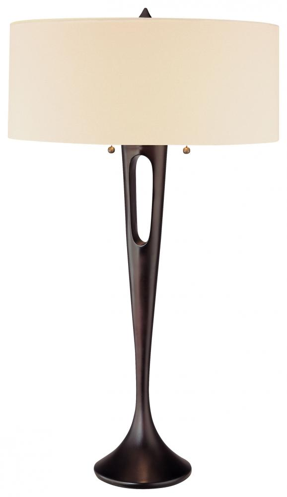 2 LIGHT TABLE LAMP