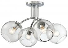 Minka George Kovacs P1845-077 - 4 LIGHT SEMI FLUSH MOUNT