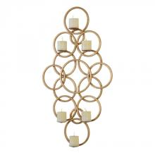Uttermost 04070 - Uttermost Coree Gold Rings Wall Sconce
