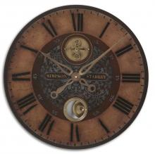 "Uttermost 06038 - Uttermost Simpson Starkey 23"" Wall Clock"