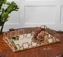 Uttermost 19912 - Uttermost Nicoline Mirrored Tray
