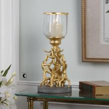 Uttermost 20142 - Uttermost Golden Gymnasts Candleholder