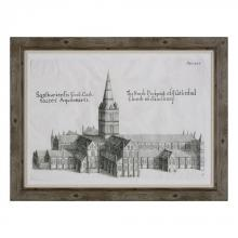 Uttermost 33645 - Uttermost Salisbury Cathedral Architectural Print