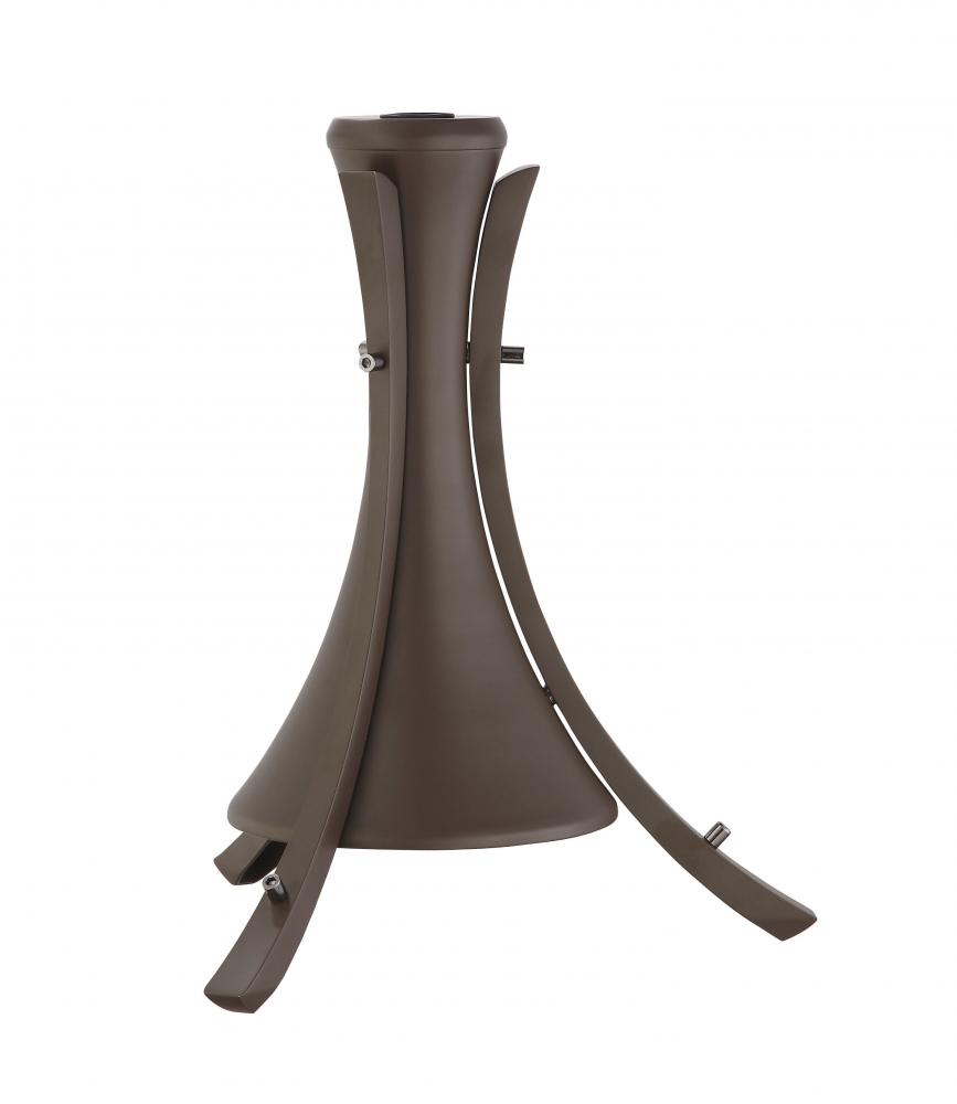 CELANO DECORATIVE DOWNROD SLEEVE: OIL RUBBED BRONZE