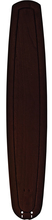 "Fanimation B6800DWA - 36"" LARGE CARVED WOOD BLADE: DARK WALNUT (MS97559)"