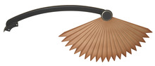 Fanimation BPW5240BA - ABS CHINESE PALM BLADE, BRONZE ACCENT - SET OF 5
