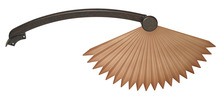 Fanimation BPW5240RS - ABS CHINESE PALM BLADE, RUST - SET OF 5